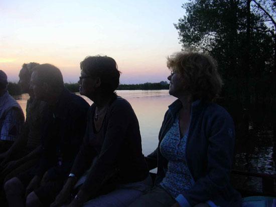 Een avondtocht door de eilandspolder